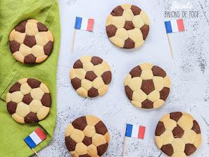 Biscuits ballons de foot