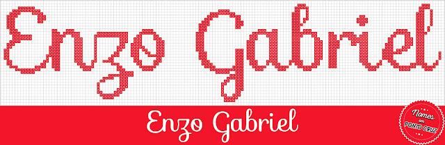 Nome Enzo Gabriel em Ponto Cruz