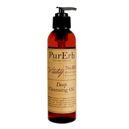 Review purerb vitality deep cleansing oil serenity calming facial vitality deep cleansing oil 1 floz30 ml 900 6 floz180 ml 3200 malvernweather Image collections
