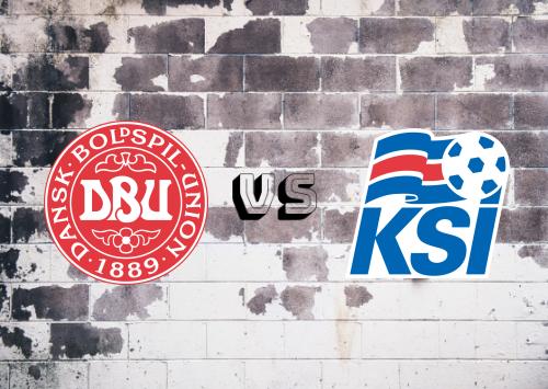Dinamarca vs Islandia  Resumen
