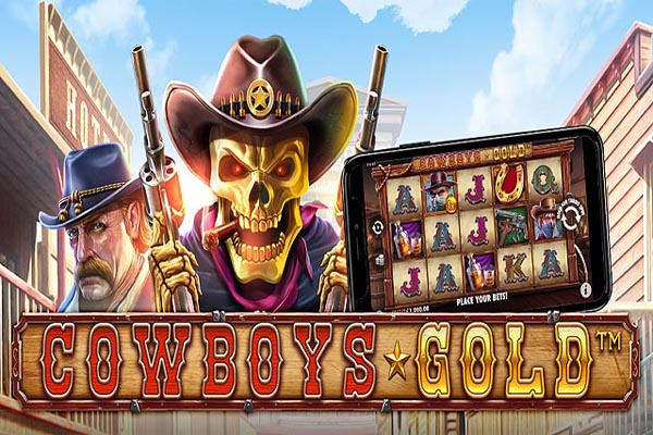 Main Gratis Slot Cowboys Gold (Pragmatic Play)