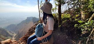 RPET bag for hiking