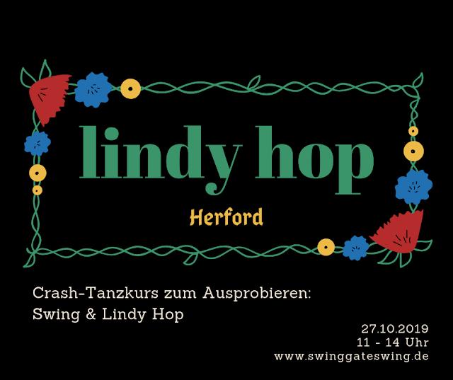 Swing tanzen, 20er Jahre, 30er Jahre, Herford Bielefeld Lindy Hop Charleston Maja Bernard