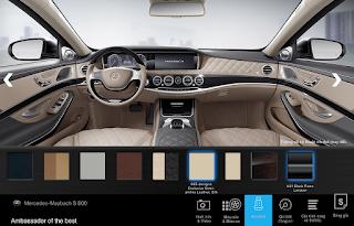 Nội thất Mercedes Maybach S650 2018 màu Vàng Silk (965)