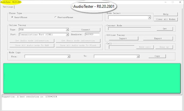 UniSoc AudioTester Tool 8.20.2801