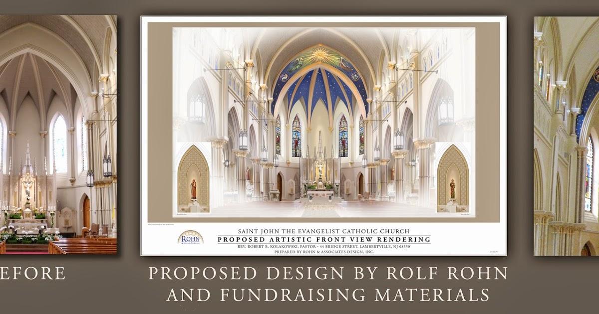 Renovation Of St John The Evangelist Inspired By Vision New Jerusalem