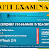ARPIT EXAMINATION 2019 - Contemporary Laws : Issues And Perspectives, last date 03/03/2019
