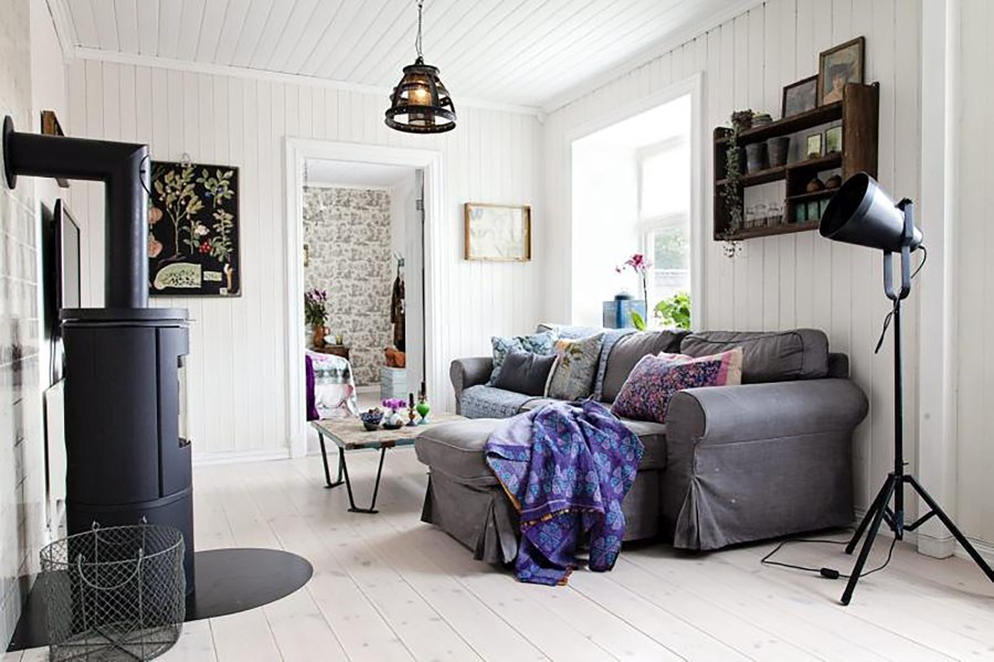 Arredare casa in Stile Mix and Match: Country Scandinavo Boho Chic