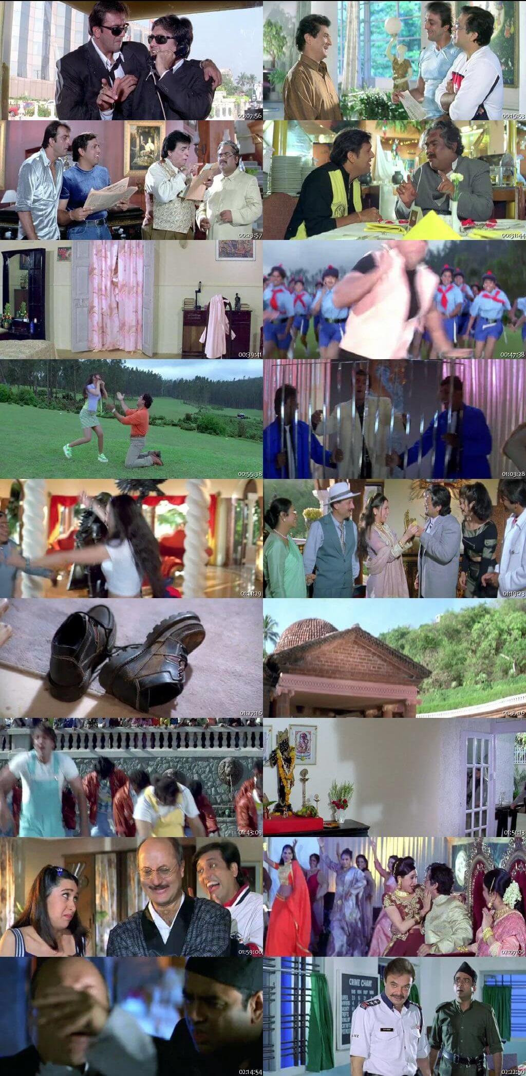Screen Shot Of Haseena Maan Jaayegi 1999 Full Movie Free Download HD 720P Watch Online
