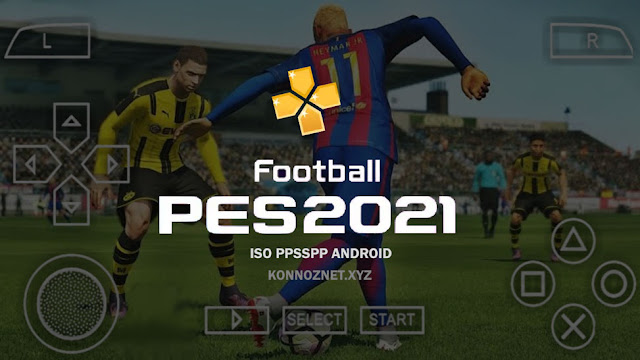 تحميل لعبة بيس Pes 2021 iso ppsspp