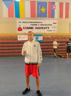 boks, Polska, kadet, Czarne Diamenty, Rybnik 2017, trening, sport, PZB, Igor Sikora