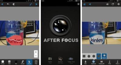 after focus aplikasi kamera android terbaik