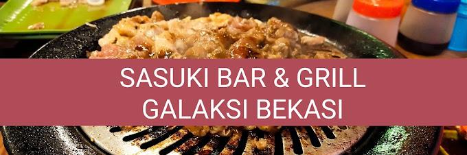 Makan BBQ di Galaksi Bekasi Sa-Suki Bar And Grill