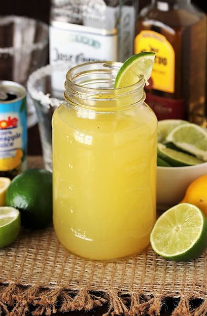 Jar of Homemade Margarita Mix Image