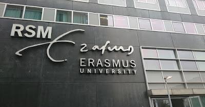 منح جامعة إيراسموس روتردام  EUR للدراسة في هولندا 2021