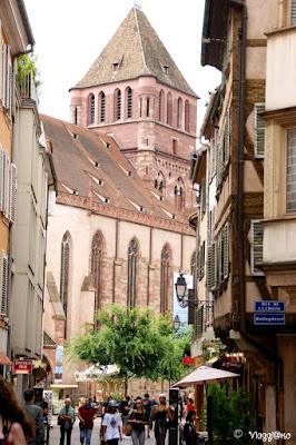 La Chiesa ed il quartiere di Saint Thomas di Strasburgo
