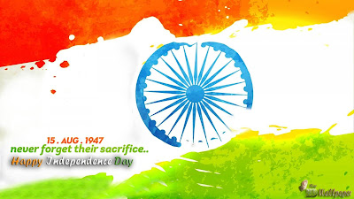 15 Agusut Happy Independence Day India