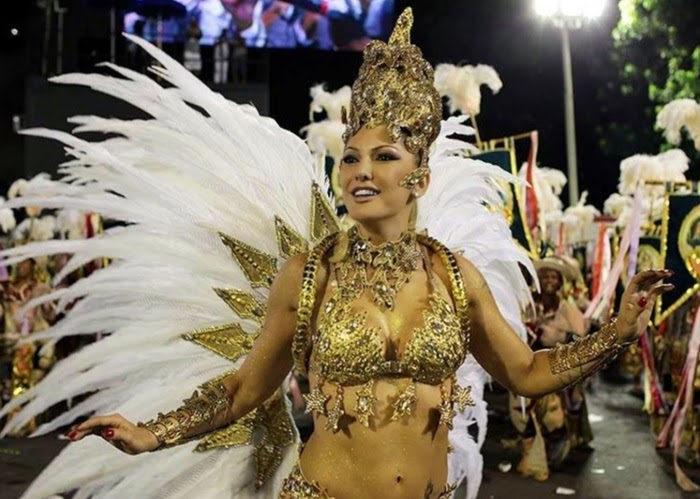 480d33739e47f A atriz Antonia Fontenelle será musa da escola carioca Grande Rio