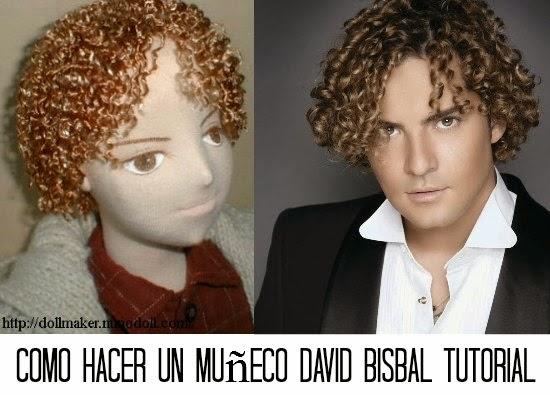 David Bisbal, muñecos, costura, manualidades