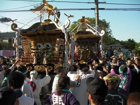 Sagami-Konomachi at Rokusho-jinja Shrine, Mt. Kamisoroi, Bamba Park and others, Oiso-machi, Kanagawa