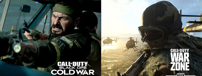 Similarities in Call of Duty Cold War vs Call of Duty Warzone