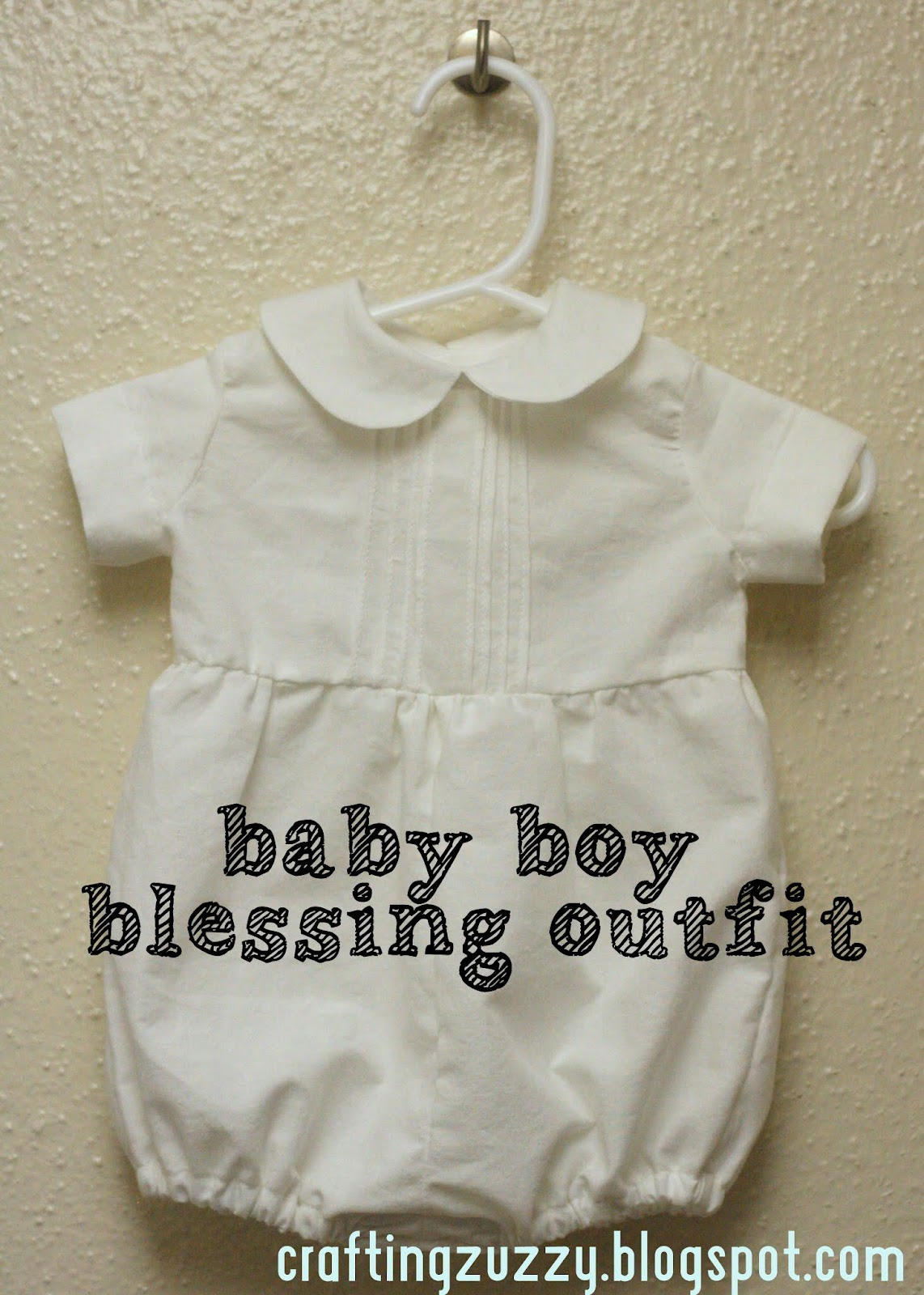813579b201a5 Crafting Zuzzy  Vintage Style Blessing Outfit for Baby Boy
