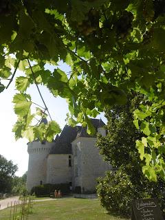 Cour intérieure du château de Bridoire, malooka
