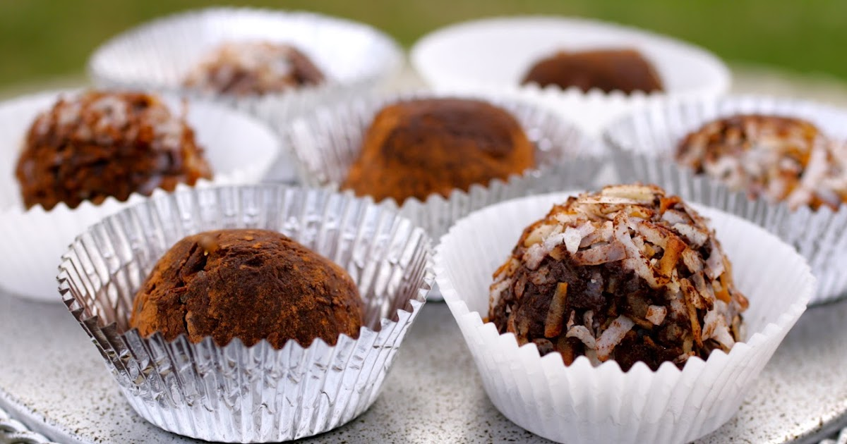 ... Make It with Beth: Easy Chocolate Truffles (made with cocoa powder