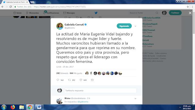 EL DERRAPE PEQUEBU DE GABI CERRUTI..    LIBRAME SEÑOR DE LAS PROGRESIAS MIOPES