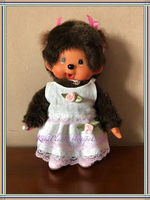 kiki monchhichi poupée couture sewing jupe top skirt handmade fait main vêtement