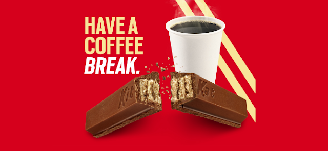 Kit Kat wants you to take a coffee break every day and enter to win a whole years' worth of Kit Kat regular candy bars worth almost $500!