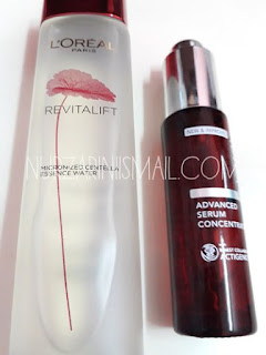 Sampel Percuma Micronized Centella Essence Water dari Loreal Paris