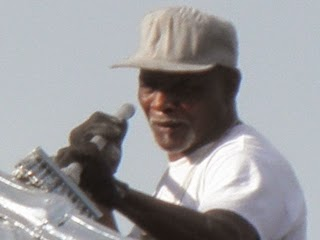 Charlotte residential painter:  Lester Mobley at work