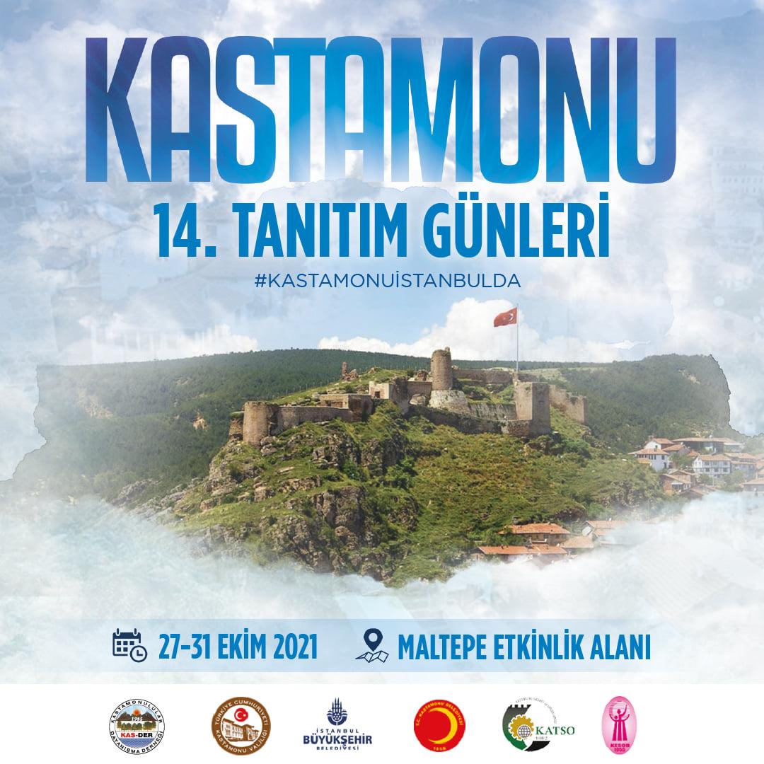 14. Kastamonu Tanıtım Günleri İstanbul 27-31 Ekim 2021