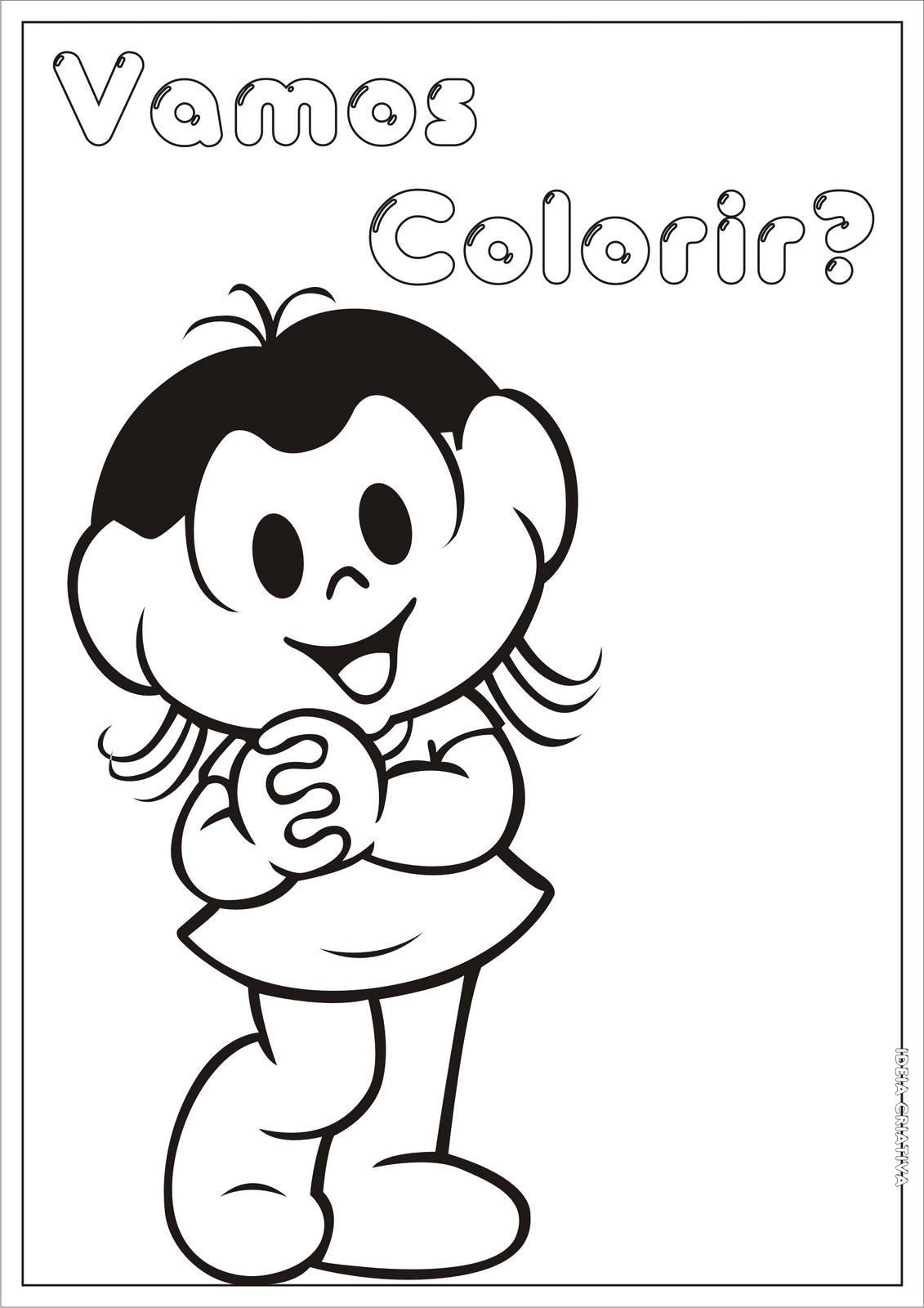 Magali Para Colorir Colorir Desenhos Para Colorir