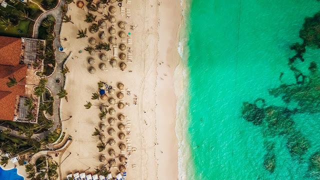 Punta Cana, vista aerea