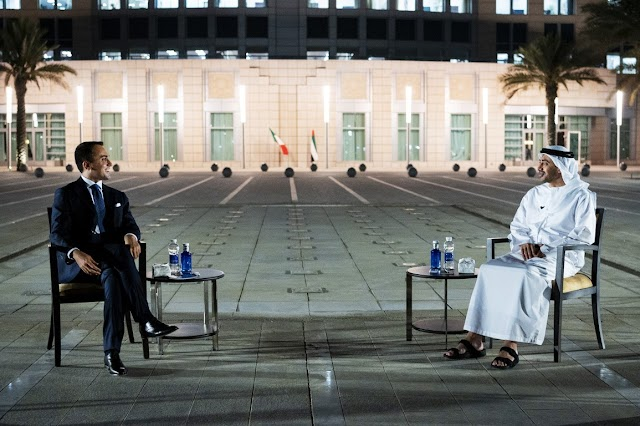 Italian finance minister visits Abu Dhabi to further strengthen trade ties