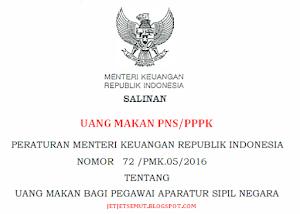 Uang Makan PNS/PPPK