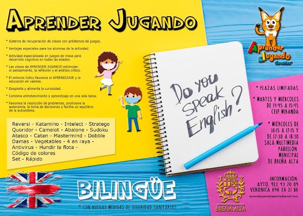 Aprender Jugando Bilingüe (Inglés) en Breña Alta