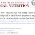 Impacto de alimentos lácteos com baixo teor de gordura e gordurosos no perfil lipídico em jejum e na pressão arterial.