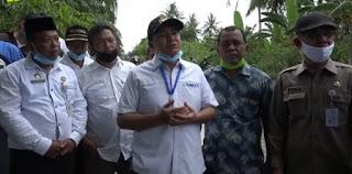 Bupati Batu Bara Tinjau Lokasi Banjir di Nanasiam
