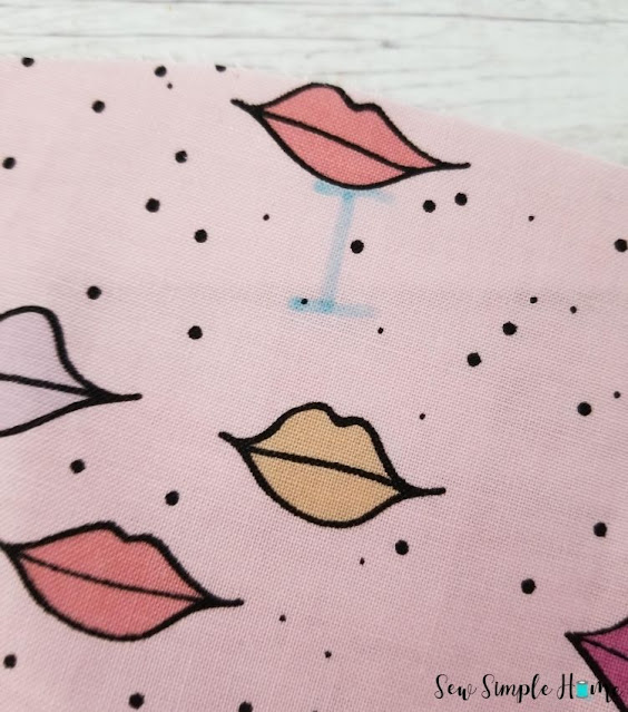 drawstring cosmetic bag pattern