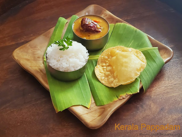 images of Pappadam Recipe / How To Make Kerala Pappadam at Home / Kerala Pappadam Recipe / Papadam Recipe /Papadum Recipe