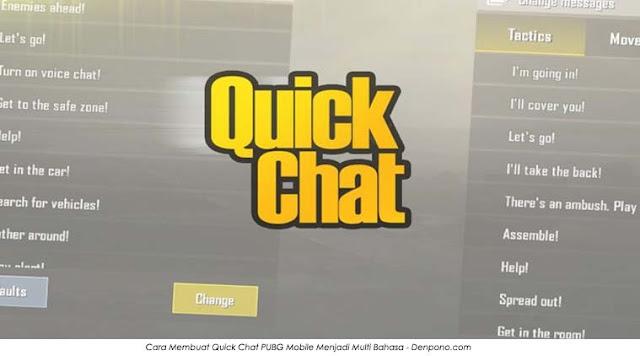 Bagaimana Cara Membuat Quick Chat PUBG Mobile Menjadi Multi Bahasa? Simak Ulasan Berikut Ini