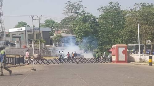 Gunshots at Protesting Shiite Members In Abuja