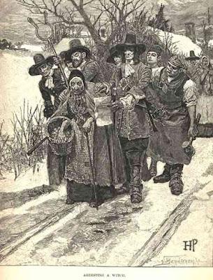 Arresting a Witch 1883- wikipedia