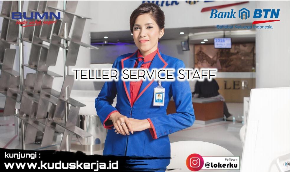 Lowongan Kerja Semarang Terbaru Teller Service Staff (TS)