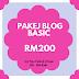 Pakej Blog Asas RM200