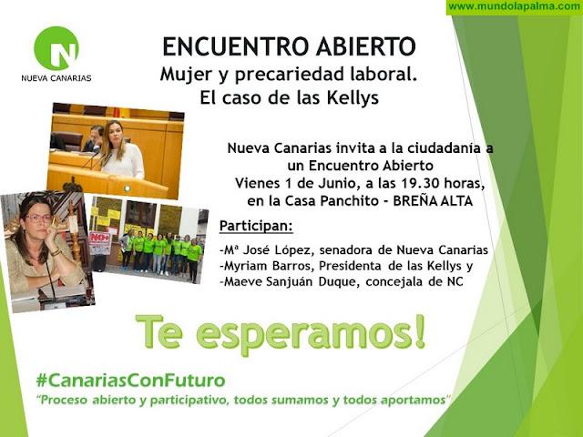 """NC organiza un encuentro abierto sobre Encuentro Abierto """"Mujer y Precariedad Laboral"""""""