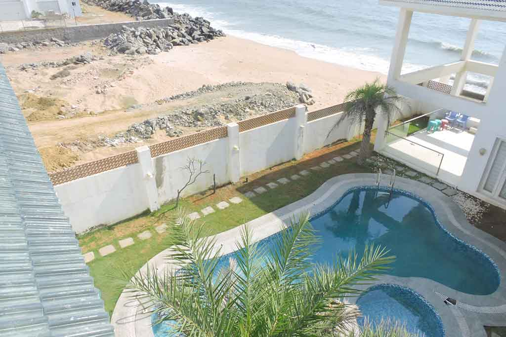 beach house in ecr for birthday party